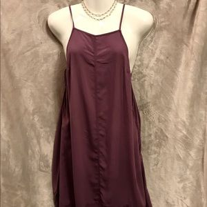Free People Intimately Open Back Lavender Dress